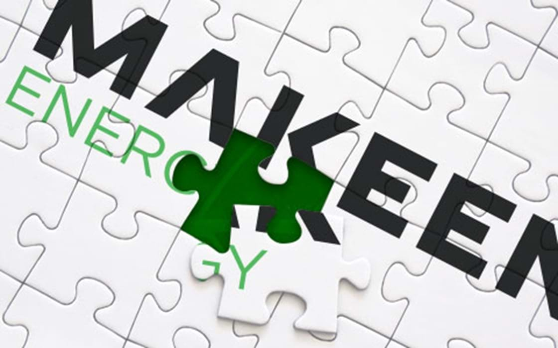 image of puzzle with MAKEEN Energy logo