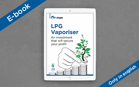 Download our e-book on the benefits of LPG vaporisers.